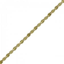 Zlatý řetízek ze žlutého zlata