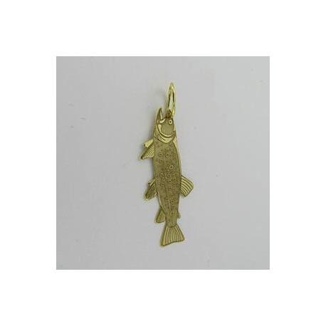 Zlatý přívěsek pstruh Z50-250