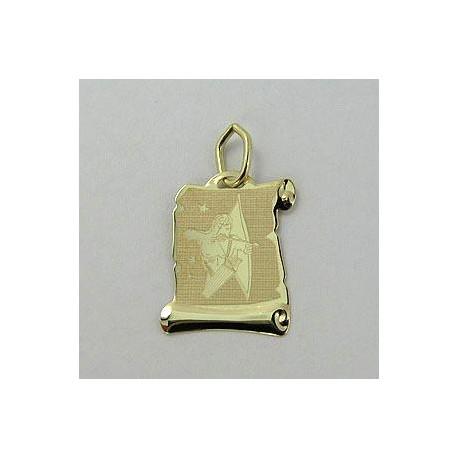 Zlatý přívěsek STŘELEC Z55-024