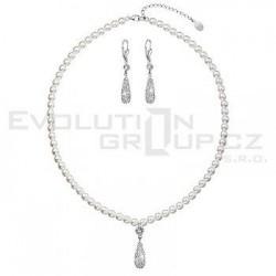 Swarovského souprava náušnice + náhrdelník