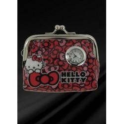 HKP100-118 Peněženka s hodinkami HELLO KITTY