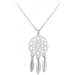 Stříbrný náhrdelník LAPAČ SNŮ, vel. 42-45 cm