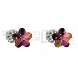 Naušnice Swarovski 31080.3 lilac