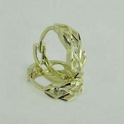 Zlaté náušnice kroužky Z40-195