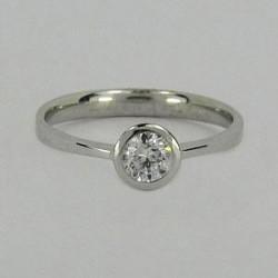 Zlatý prsten zásnubní Z70-106