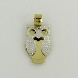 Zlatý přívěsek sova Z50-376