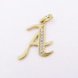 Zlatý přívěsek písmeno A Z54-044