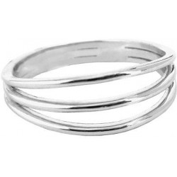 Trojitý stříbrný prsten